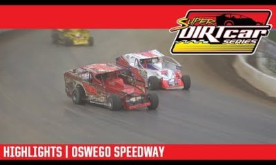 Super DIRTcar Series Big Block Modifieds Oswego Speedway October 7, 2018 | HIGHLIGHTS