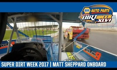 Super DIRTcar Series Matt Sheppard Oswego Speedway October 8th, 2017 | ONBOARD