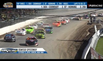 DIRTcar Pro Stocks Oswego Speedway October 13, 2019 | HIGHLIGHTS