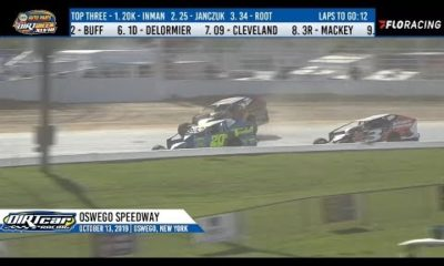 DIRTcar Sportsman Modifieds Oswego Speedway October 13, 2019 | HIGHLIGHTS