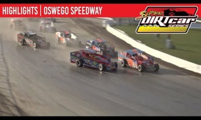 Super DIRTcar Series Big Block Modifieds Oswego Speedway October 13, 2019 | HIGHLIGHTS