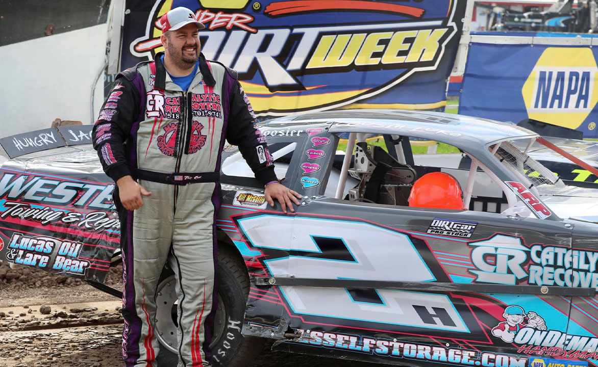 Horning sets the pole for the Pro Stock 50